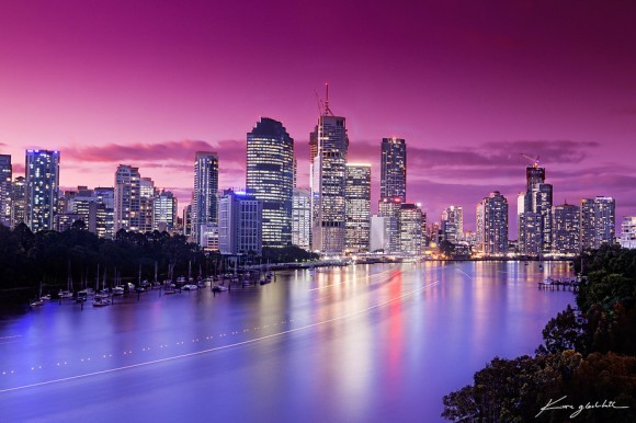 Brisbane City - After the Floods