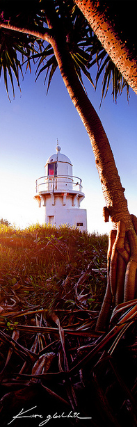 Fingal Head Lighthouse at Dawn